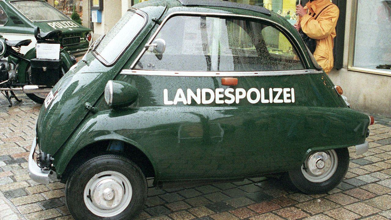 Die BMW Isetta als Polizeiwagen - Bildquelle: BMW / dpa