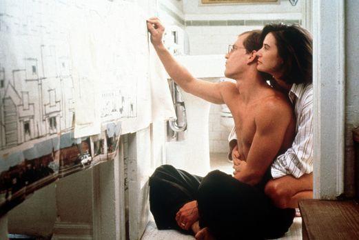 Ein unmoralisches Angebot - Diana (Demi Moore, r.) und David (Woody Harrelson...