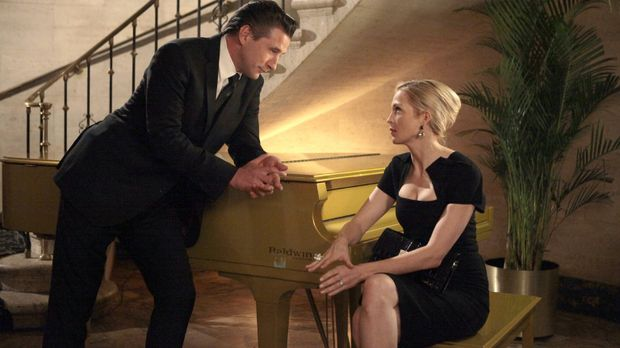 Turbulent geht es weiter: William (William Baldwin, l.) und Lily (Kelly Ruthe...