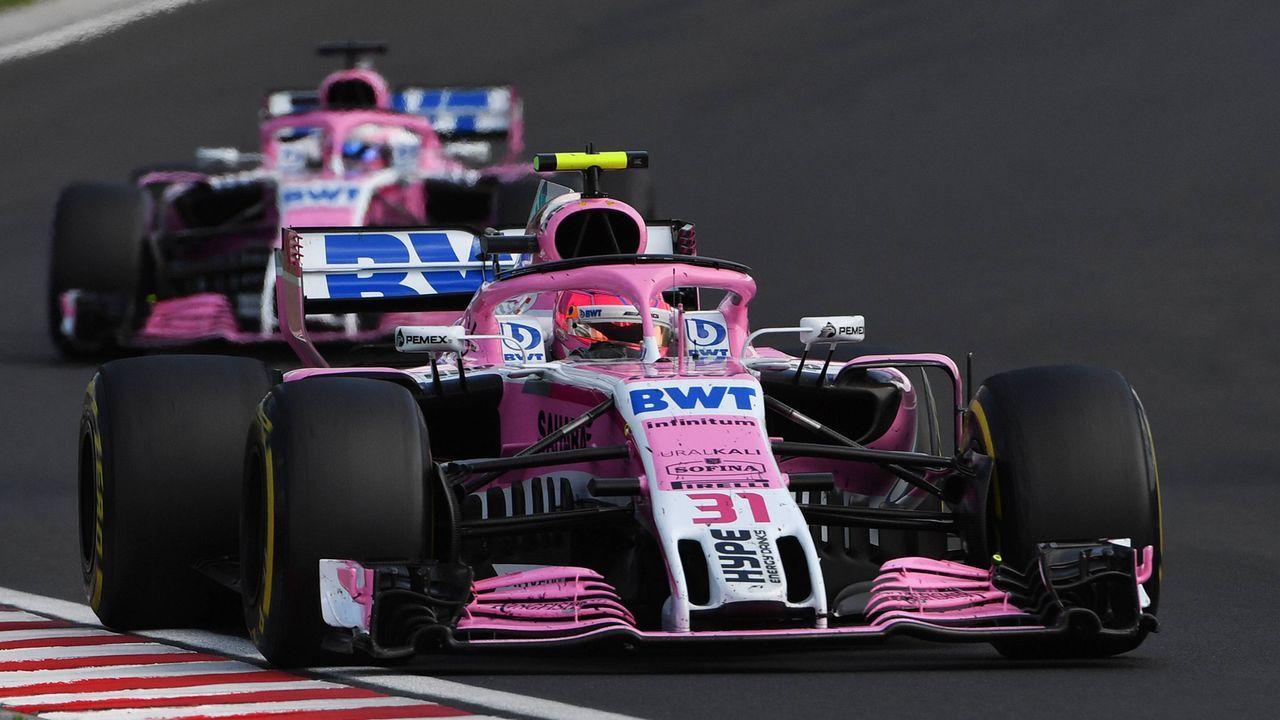 6. Force India - Bildquelle: imago/Motorsport Images