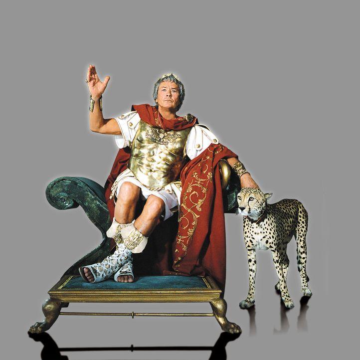 Caesar (Alain Delon) will eine Prinzessin an den Mann bringen. Kein leichtes Unterfangen beginnt ... - Bildquelle: Constantin Film