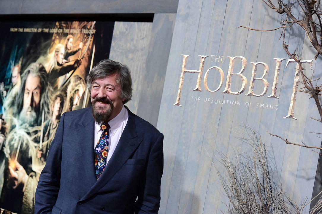 The-Hobbit-Premiere-LA-Stephen-Fry-131202-1-getty-AFP - Bildquelle: getty-AFP