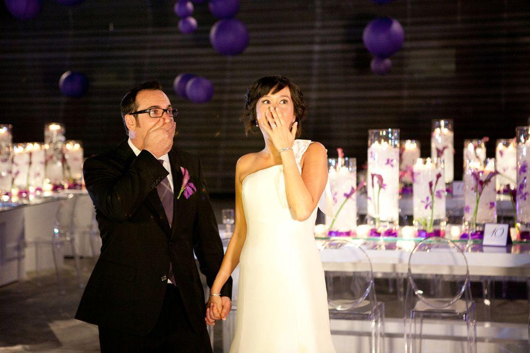 (4. Staffel) - Begeisterung oder Enttäuschung? Die Brautpaare überlassen alle wichtigen Entscheidungen dem Wedding-Planner ... - Bildquelle: 2012 PilgrimStudios