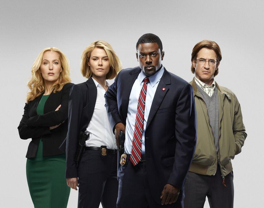 (1. Staffel) - Crsis: Während Thomas Gibson (Dermot Mulroney, r.) einen persönlichen Rachefeldzug gegen das CIA führt, haben FBI-Agentin Susie Dunn... - Bildquelle: 2013-2014 NBC Universal Media, LLC. All rights reserved.