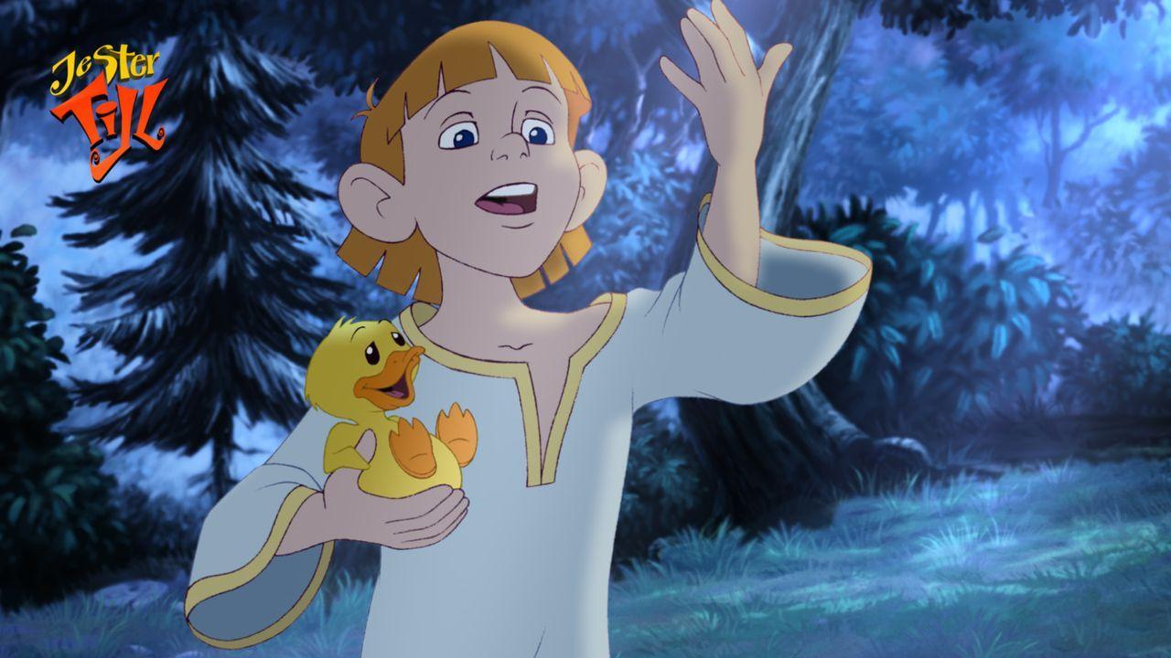 Der kleine König Rupert ist so begeistert von der Ente Ducky, dass er sich auf eine aufregende Reise macht, um den Bürgern von Boomstadt persönli... - Bildquelle: Capella Films International