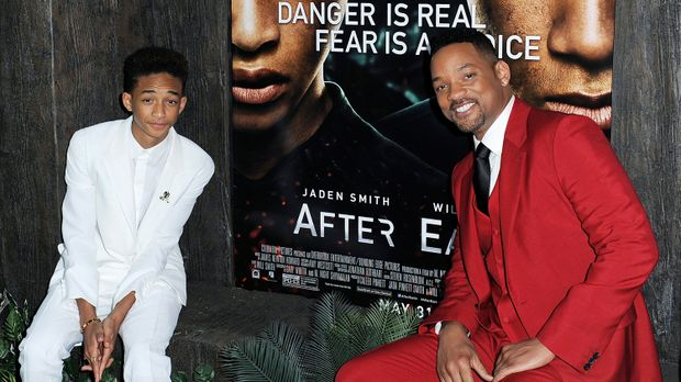 after-earth-will-smith-jaden-smith-dpa © usage Germany only, Verwendung nur i...