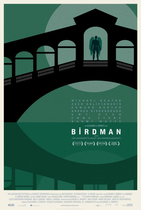 Birdman-Plakat-Venice-20th-Century-Fox - Bildquelle: TWENTIETH CENTURY FOX