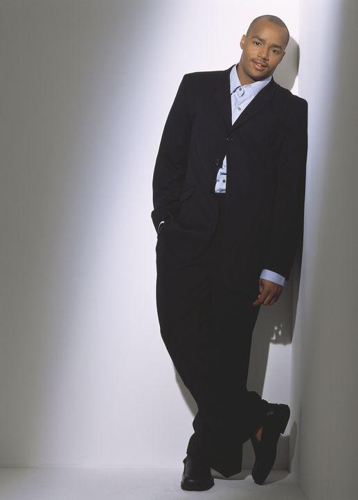 (1. Staffel) - Obwohl sich der junge Chirurg Turk (Donald Faison) selbstbewusst gibt, wird auch er von massiven Selbstzweifeln geplagt ... - Bildquelle: Touchstone Television