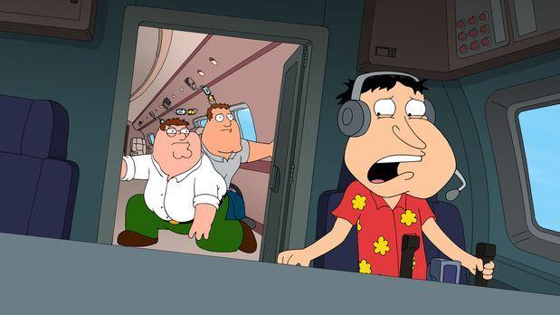 Family Guy - Stürzen mit einem Privatflugzeug in der kanadischen Wildnis ab....