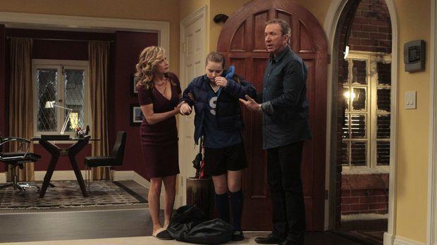 Mike (Tim Allen, r.) und Vanessa (Nancy Travis, l.) wollen nicht, dass Eve (K...
