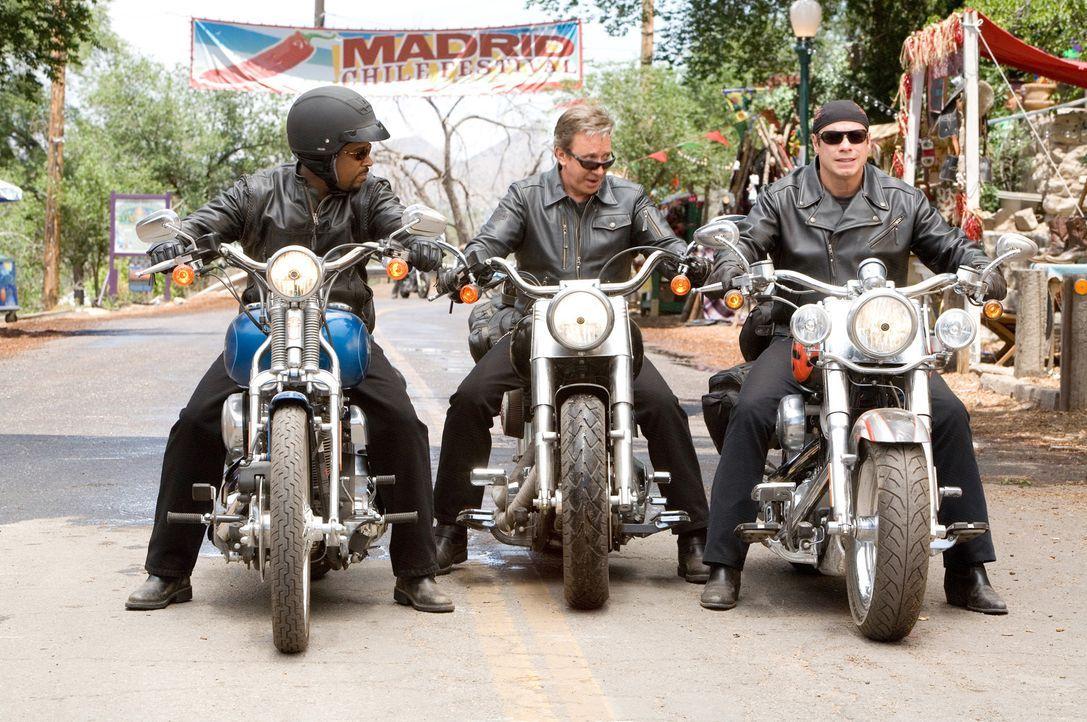 """""""Born to be wild"""" - dass dieser alte Biker-Spruch noch mal zu ihrem Lebensmotto werden sollte, hätten sich Vorstadt-Spießer Doug (Tim Allen, M.),... - Bildquelle: Touchstone Pictures.  All rights reserved"""
