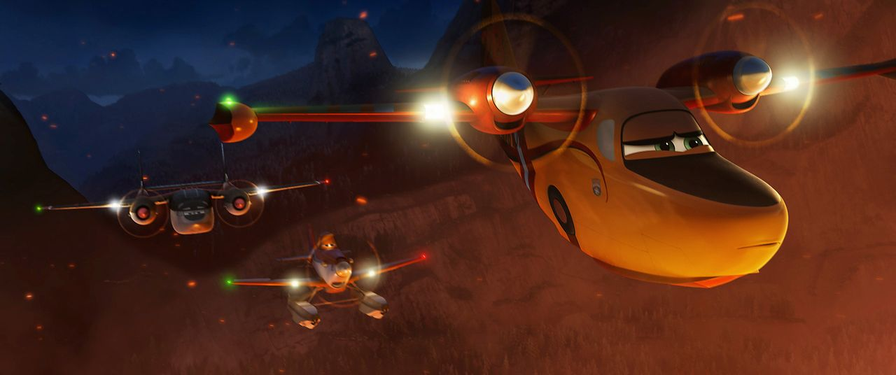 Planes-2-Immer-im-Einsatz-11-Walt-Disney - Bildquelle: 2014 Disney Enterprises, Inc. All Rights Reserved.