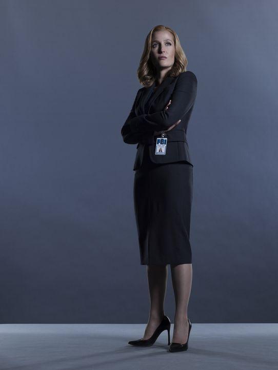 (1. Staffel) - Die Suche nach der Wahrheit geht auch für Scully (Gillian Anderson) weiter ... - Bildquelle: 2016 Fox and its related entities.  All rights reserved.