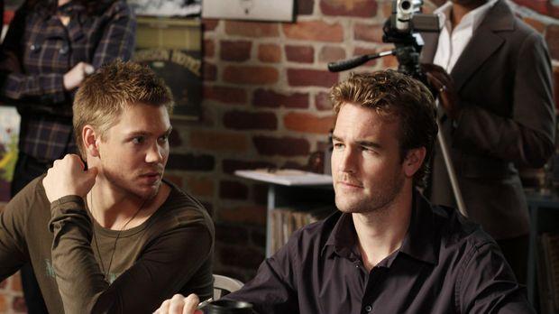 Lucas (Chad Michael Murray, l.) ist standing mit dem Casting zu seinem Film b...