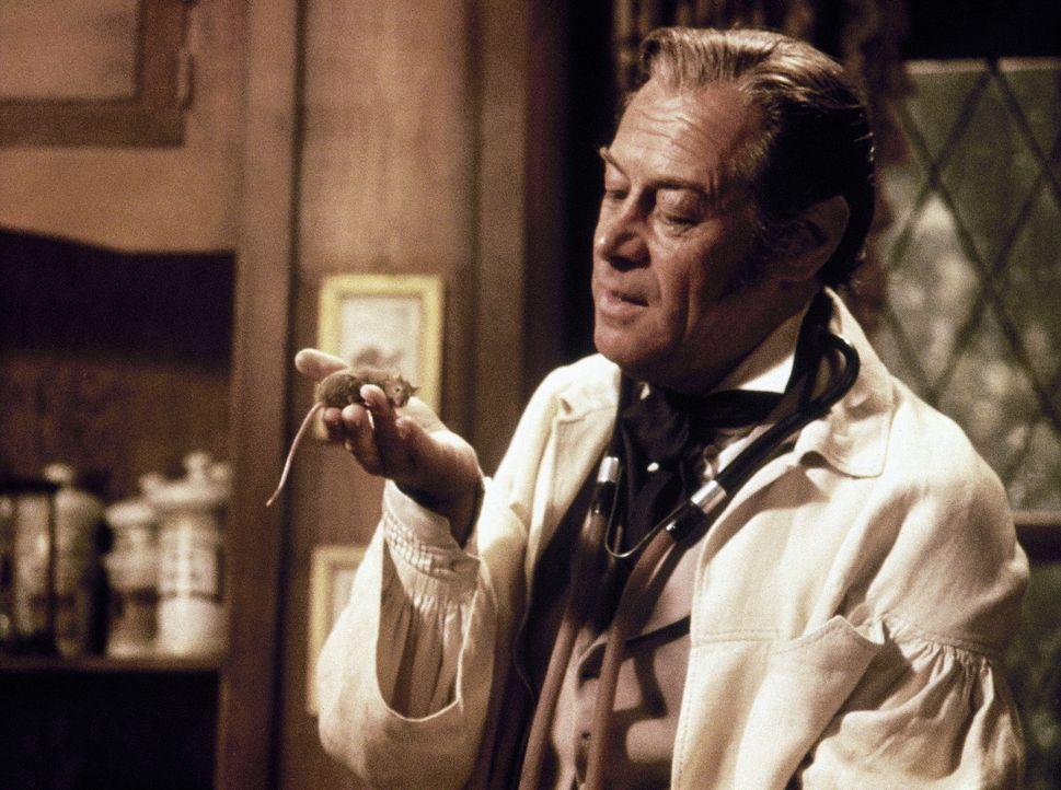 Dr. Dolittle (Rex Harrison) beherrscht fast 500 Tiersprachen - auch die der gemeinen Hausmaus ...