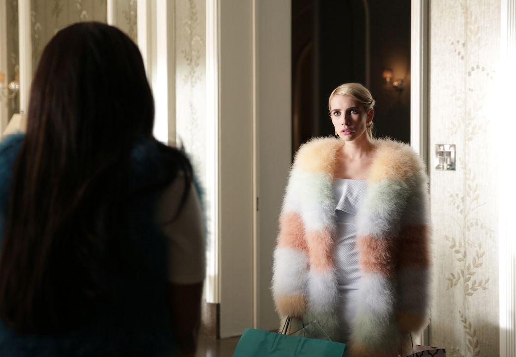 Wenn sich Chanel (Emma Roberts) etwas in den Kopf gesetzt hat, gibt sie nicht auf, bis sie ihr Ziel erreicht hat - koste es was es wolle ... - Bildquelle: 2015 Fox and its related entities.  All rights reserved.