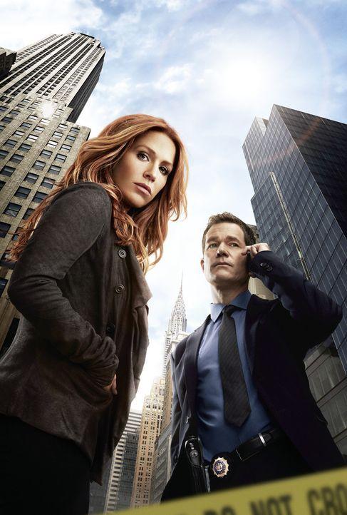 (2. Staffel) - Im Kampf gegen das Verbrechen: Detective Carrie Wells (Poppy Montgomery, l.) und Detective Al Burns (Dylan Walsh, r.) ... - Bildquelle: 2013 Sony Pictures Television Inc. All Rights Reserved.