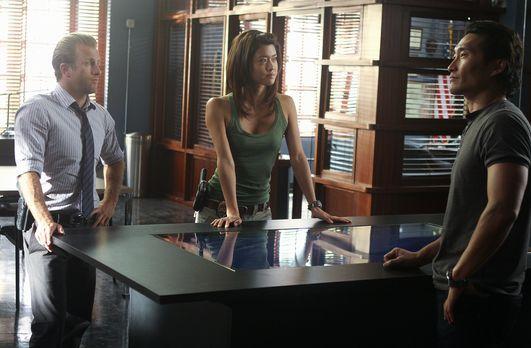 Versuchen, einen neuen Fall zu lösen: Danny (Scott Caan, l.), Chin (Daniel Da...