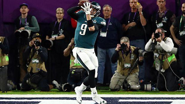 Erster QB mit Touchdown-Pass und -Catch im Super Bowl - Bildquelle: 2018 Getty Images