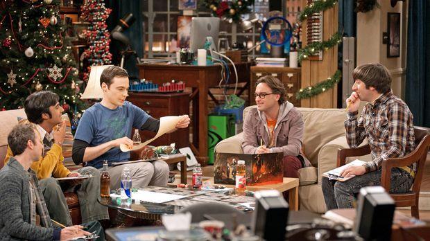 Ein ganz besonderer Spieleabend: Howard (Simon Helberg, r.), Sheldon (Jim Par...