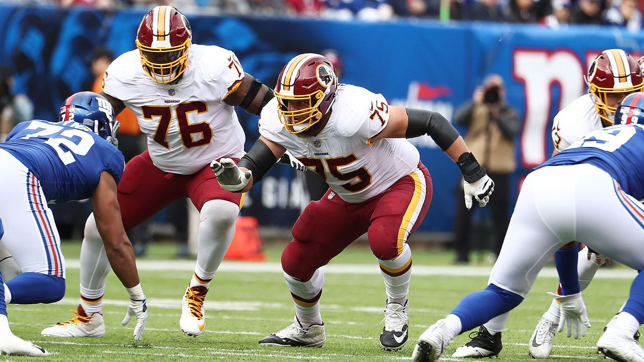 Shawn Lauvao (Washington Redskins) - Bildquelle: 2018 Getty Images