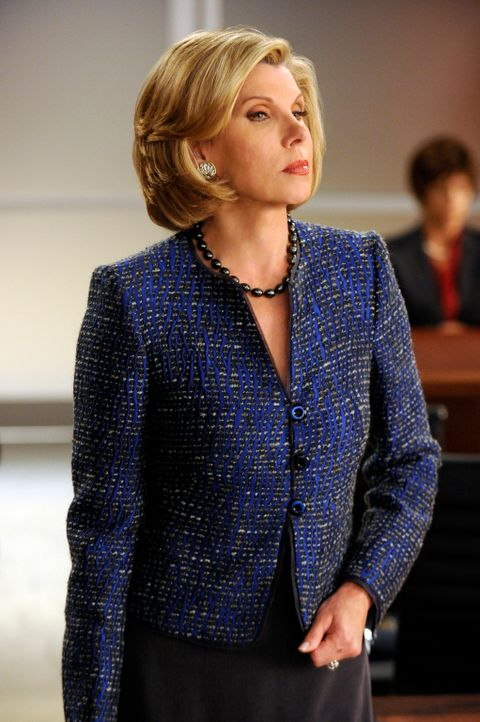 Diane (Christine Baranski) lässt sich nicht so schnell unterkriegen - und erst recht nicht von einem befangenen Richter ... - Bildquelle: Jeffrey Neira 2012 CBS Broadcasting, Inc. All Rights Reserved