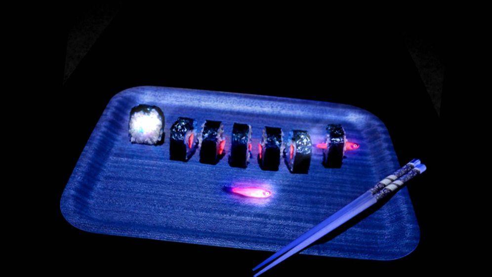 Bild Geschichte - Glowing Sushi