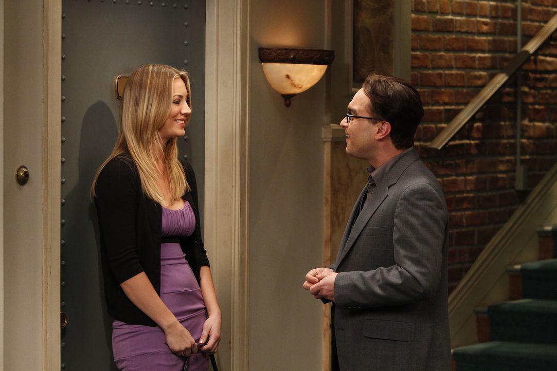 Hat ihre Beziehung eine Chance? Leonard (Johnny Galecki, r.) und Penny (Kaley Cuoco, l.) ... - Bildquelle: Warner Bros. Television