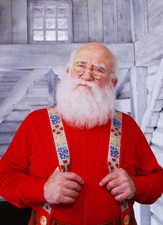 Buddy will den Menschen beweisen, dass der Weihnachtsmann (Edward Asner) tatsächlich existiert ... - Bildquelle: Warner Bros. Television