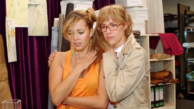 Lisa (Alexandra Neldel, r.) wird klar, als sie sich um Hannahs (Laura Osswald...
