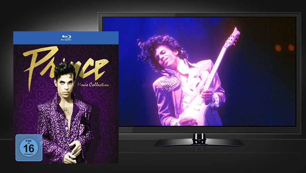 Prince - Movie Collection (Blu-ray Box Set)