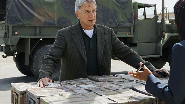 Ermittelt in einem neuen Mordfall: Gibbs (Mark Harmon) ... © CBS Television