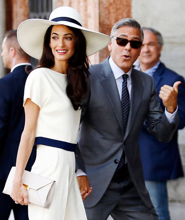 George-Clooney-Amal-Alamuddin-140929-AFP - Bildquelle: AFP
