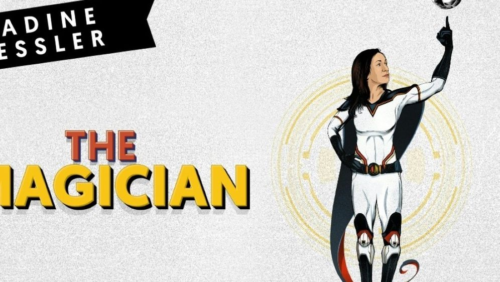 Nadine Kessler als Comic-Superheldin - Bildquelle: FIFAFIFASID