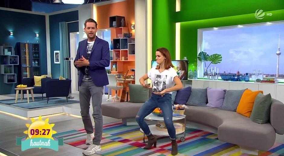 Frühstücksfernsehen Video Schlagersängerin Vanessa Mai Tanzt Hip