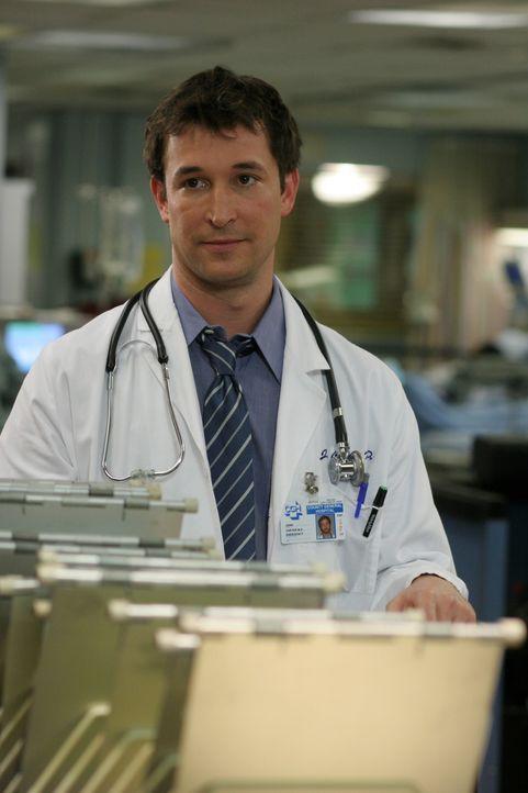 Carter (Noah Wyle) und Wendall beenden ihre Beziehung und Carter beschließt, das geplante Tagespflegezentrum für HIV-Kranke selbst zu finanzieren, d... - Bildquelle: WARNER BROS