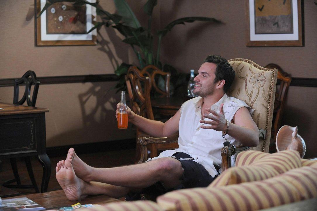 Verbringt mit Jess ein romantisches Wochenende in Mexiko, doch dann wird Nick (Jake Johnson) verhaftet ... - Bildquelle: TM &   2013 Fox and its related entities. All rights reserved.