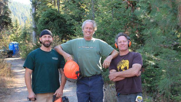 Die Treehouse Guys Ka-V (l.), B'fer (M.) und Jason (r.) müssen dieses Mal in...