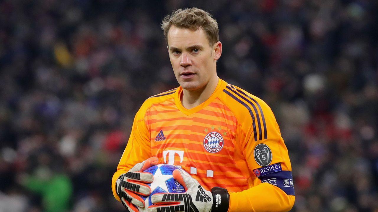 Platz 8 (geteilt): Manuel Neuer - Bildquelle: Getty Images