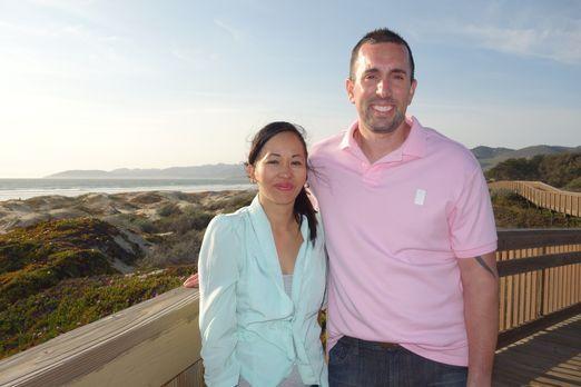 Finden Hun (l.) und Anthony (r.) die passende Immobilie in Pismo Beach für un...
