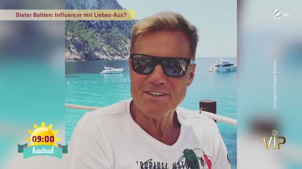 fr hst cksfernsehen video dieter bohlen wie geht es ihm und carina sat 1. Black Bedroom Furniture Sets. Home Design Ideas