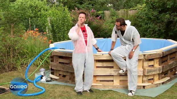 Galileo Video Fuffi Swimming Pool Prosieben