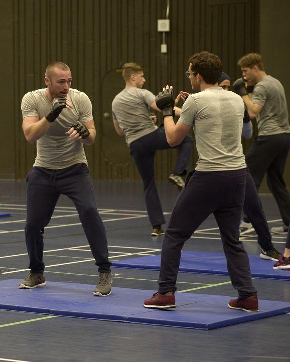 Müssen sich einer neuen Trainingseinheit stellen: Ryan (Jake McLaughlin, l.) und Simon (Tate Ellington, r.) ... - Bildquelle: 2015 ABC Studios