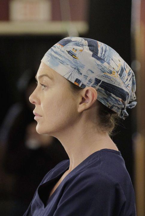 Ist wieder zurück bei der Arbeit: Meredith (Ellen Pompeo) ... - Bildquelle: Tony Rivetti ABC Studios