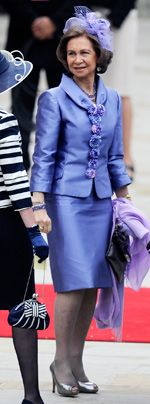 William-Kate-Westminster-Abbey-Sofia-of-Spain-11-04-29-150_404_AFP - Bildquelle: AFP