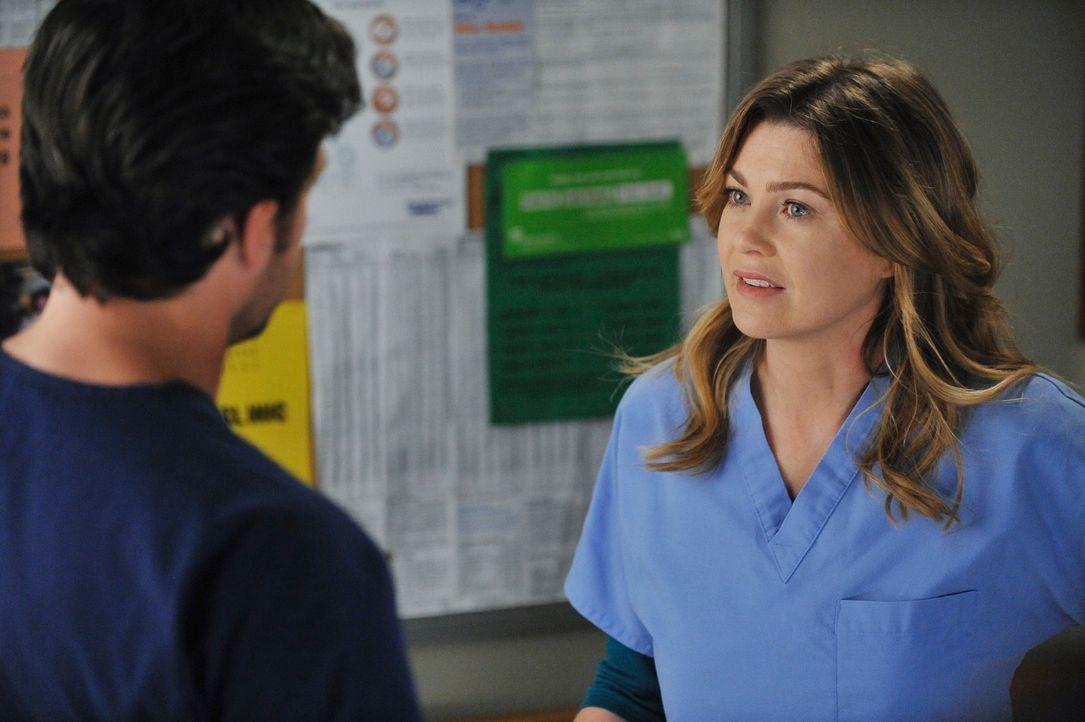 Während Derek (Patrick Dempsey, l.) nach Wochen von Meredith (Ellen Pompeo, r.) erfährt, dass sie eine Fehlgeburt hatte, muss sich Alex weiter mit d... - Bildquelle: ABC Studios