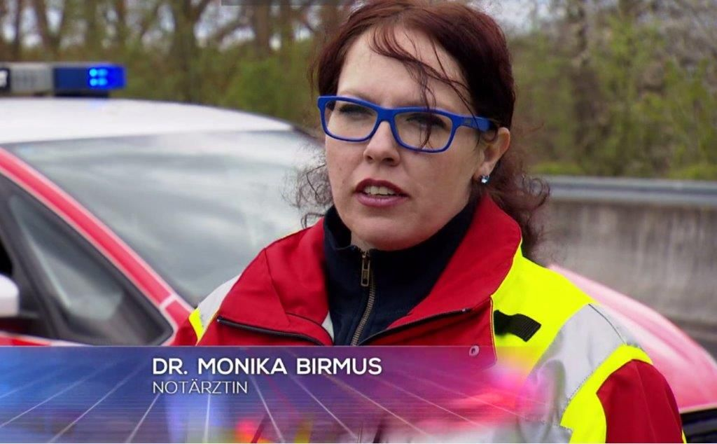 Notärztin Monika Birmus