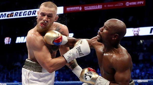 Mayweather schlägt McGregor
