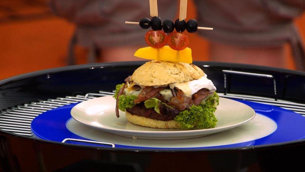rOst-Burger von den rOst-Grillern
