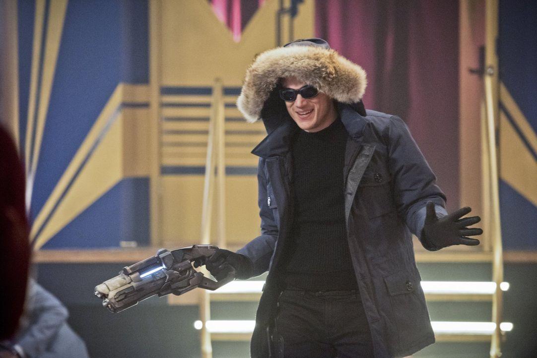 Ist all das Leid, dass Leonard Snart alias Captain Cold (Wentworth Miller) über Central City bringt wirklich nur möglich, weil Barry den Lauf der Ze... - Bildquelle: Warner Brothers.